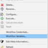 【KNIME】workflow内で使えるflow variableを設定したい。