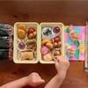 夫と娘のピクニック弁当~別名、緑の野菜が不在弁当