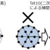 【CAE】Tet4(一次要素)とTet10(二次要素)の違いと使い分け