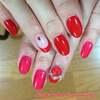 真夏のレッドネイル&「Pinkなユニコーン」&螺鈿ネイル、そしてフットも♪マイネイルのご紹介☆