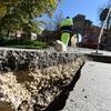 過去100年間の福岡市周辺で発生した地震と福岡の活断層帯