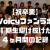 【祝卒業】Voicyファンラボ1期生駆け抜けた4ヶ月間の記録