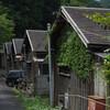 京都笠置町の山間で昭和木造団地を発見