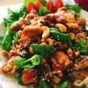 鶏肉のカシューナッツカレー炒め