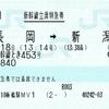 現美新幹線立席特急券