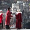 ディズニーシー:イッツ・クリスマスタイム!雪が降ってグーフィー登場!