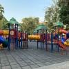 Wat Phnom Kid Playground 児童公園のようすです。