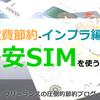 固定費節約-インフラ編-格安SIMを使う~2020年版価格比較