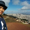 "サンフランシスコが一望できる""Twin Peaks""!! You can see all the San Francisco there!!"