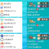 【s4 剣盾ダブル】リザバナキュウコン(最終16位)