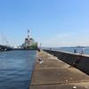大阪南港 かもめ大橋下