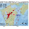 2016年08月31日 08時12分 宮崎県北部山沿いでM2.0の地震