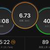 ジョギング6.73km・今日はサラッとEペース走