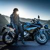 龍の谷でバイク女子を撮る