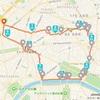 フランス出張 -パリで2度目の朝ラン(9km)