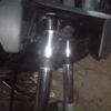 3号機3YK−ZR 支那製フロントフォークに交換