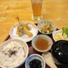 ペナンの「寿司割烹宮坂」の天ぷら定食(お昼)