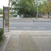 基町バス停の位置