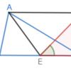 第1巻命題42 三角形に等しい平行四辺形の作図[角を与えられた場合]