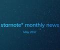【月刊すたの通信】2017年5月のできごと。