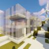 【Minecraft】モダンな肉屋を建てる【砂漠の村をリメイクするよ3】