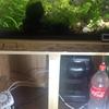 欅松楢の水槽台 番外編 水槽と扉の設置、その他周辺部品類