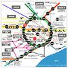 東京 区 地図 路線