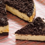 オレオベイクドチーズケーキは見た目もかわいく楽しめる!