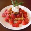 🍀🍀mash CAFE マッシュカフェ 鳥取市 カフェ 旬の果物のスイーツ