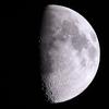 「月」の撮影 2021年4月21日(機材:ミニボーグ50FL、E-PL5、ポラリエ)