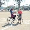 5年生 自転車大会の練習(10月22日)