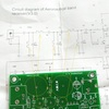 I measured the inductance value of front end PCB pattern coil in Chinese airband receiver kit. 中国製受信機キットのPCBパターンコイルのインダクタンスを測りました