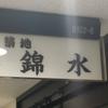 築地 錦水(新大手町ビル)