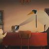 ママの彼氏はバードマン、優しくも不気味なアニメーション作品『Chez moi』に漂う混沌。