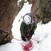 〈個人山行〉 堂満岳 ルンゼ中央稜