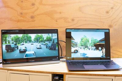 15.6インチの4Kモニターを導入!ケーブル一本で接続できて自宅外でも2画面が捗る。Uperfect