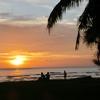 コタキナバルの夕日スポット サンセットがきれいなビーチTanjung Aru Beach 2