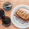 板チョコ挟みパン  #独身男性手作りチョコバトル