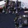 ピストンデザインの オヤイデ電気 オーディオ専用の電源プラグ&IECコネクター「ARMORED」