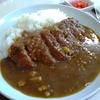 札幌市豊平区西岡 お食事の店まつやでカツカレー