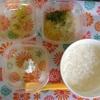 離乳食 中期 93日目 1回目 カッテージチーズ