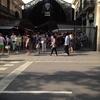 バルセロナの市場で昼食からのカンプ・ノウ