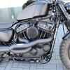"""パーツ:Dark-Parts Motorcycles「Rockerboxcover """"Dark"""" Forty Eight」"""