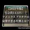 【2021年版】年会費14万円!?アメックスプラチナの豪華すぎる特典とは?