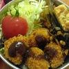 残ったカレーで簡単ミニカレーコロッケ弁当の作り方~カレーリメイク活用レシピ~