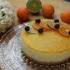 初夏にぴったり・爽やかなオレンジヨーグルトムースケーキを作りました。【海外子育て】図書館とプールに行ってきました♪