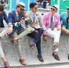 イタリア男にはできない和洋せっちゅうでガンバってる感みせない洋服を着て。
