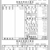 リコージャパン株式会社 第60期決算公告
