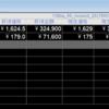 レーダースクリーンに各銘柄の保有ポジション状況(取得価格、株数、未実現損益など)を表示させる方法