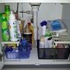 【洗面台下の収納】ニトリの引き出し付き整理棚で溜めない収納